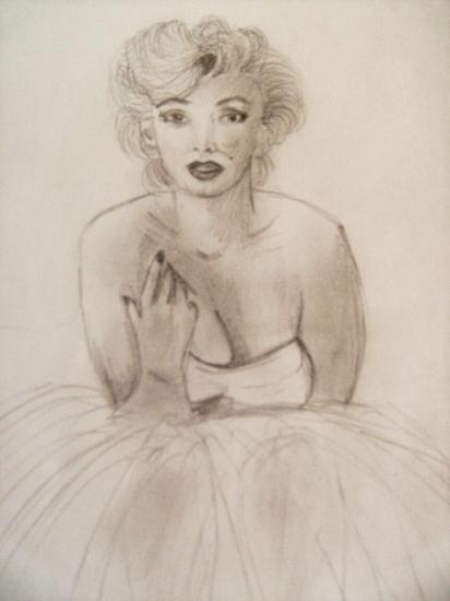 Marilyn Monroe by morgane